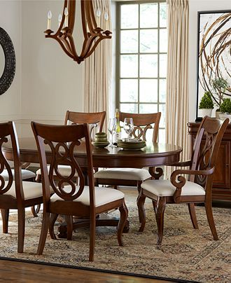 Bordeaux Round Dining Table - Shop All Dining Room - Furniture - Macy's