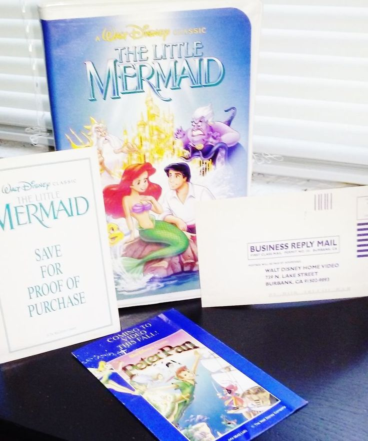 The Little Mermaid (Disney VHS Black Diamond) Collectors Special 1994 SUPER RARE Only 1 on Ebay, Place Bid above