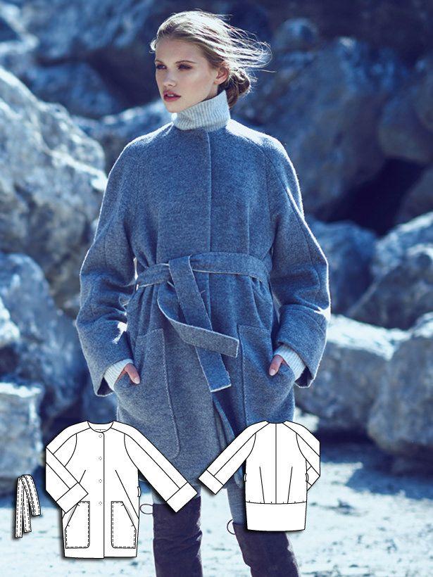 Raglan Sleeve Coat 12/2015 #104A http://www.burdastyle.com/pattern_store/patterns/raglan-sleeve-coat-122015?utm_source=burdastyle.com&utm_medium=referral&utm_campaign=bs-tta-bl-151116-OutCold104A