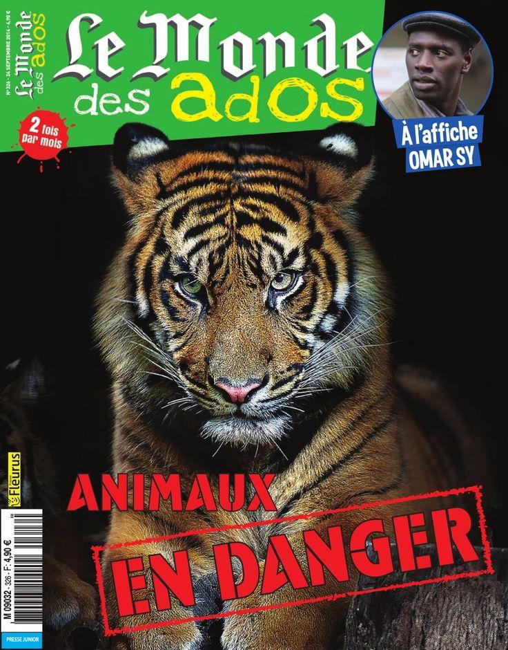 A l'affiche, l'acteur Omar Sy et un dossier spécial sur les animaux en danger et plein d'autres sujets intéressants !