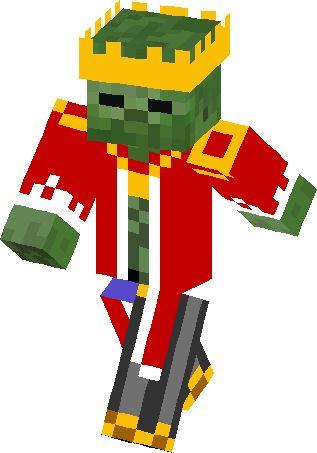 King Zombie Skin   Minecraft Skins   Minecraft   Pinterest ...
