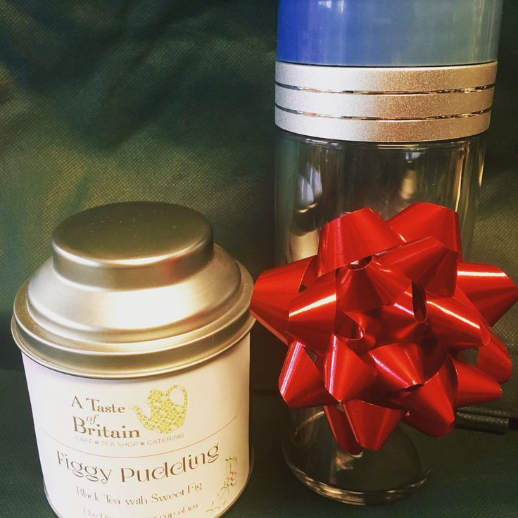 Premium loose leaf tea and a Tea Traveler, perfect gift for a tea lover!