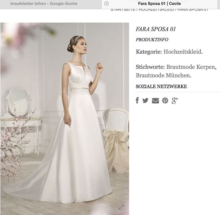 Hochzeitskleid - Gürtel aus Spitze