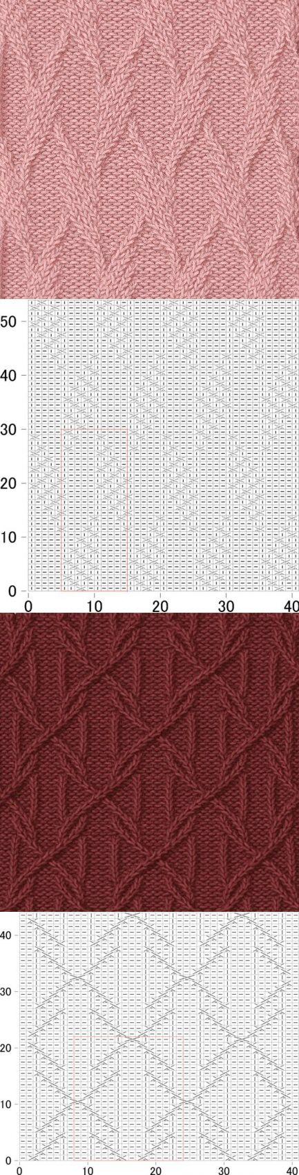 Узоры для вязания спицами со схемами. Подборка узоров для вязания спицами.   Домоводство для всей семьи.