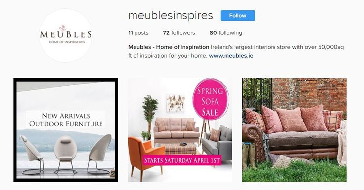 Follow us on Instagram, for information on all our latest sales and offers.