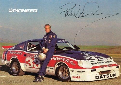 paul newman racing | Paul Newman and his #33 Bob Sharp Racing Pioneer Datsun 280ZX | Cars