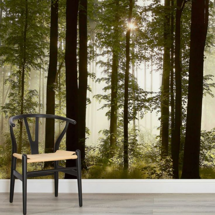 Beyond the Forest Wallpaper Mural, custom made to suit your wall size by the UK's No.1 for wall murals. Custom design service and express delivery available.
