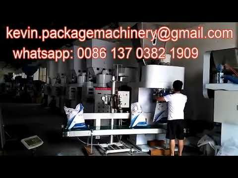 automatic flour packing machine, grain packing bagging machine for 10kg,