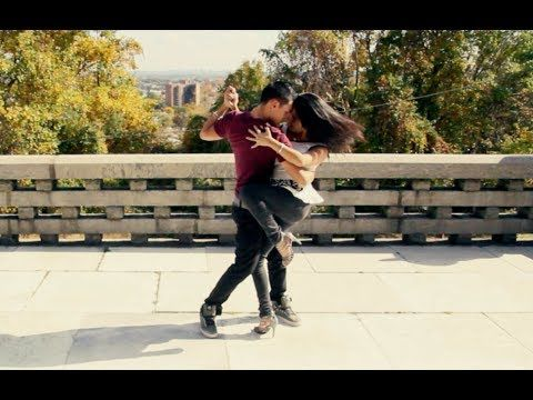 "▶ ""Solo por un beso"" dance - YouTube.  My favorite song and my favorite style of dance"