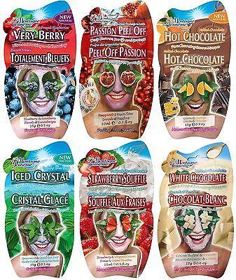6 Montagne Jeunesse Pick 'n' mix Face Mask Sachets | Our 6 Favourite Masks