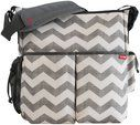 Love these skip hop diaper bags! Def gender neutral and mom or dad could carry easily. Skip Hop Duo Diaper Bag - Chevron