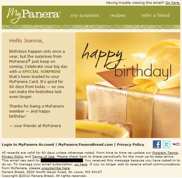 15 best birthday email templates images on pinterest. Black Bedroom Furniture Sets. Home Design Ideas