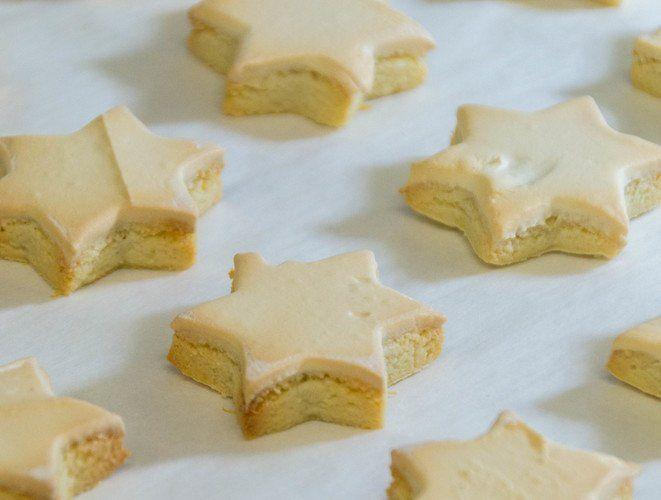 Kuchen mit alten keksen