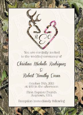 Camo Wedding Invitations | eBay