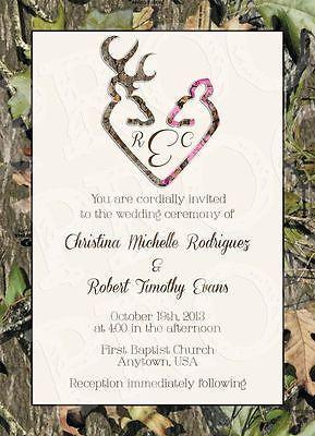Camo Wedding Invitations | eBay