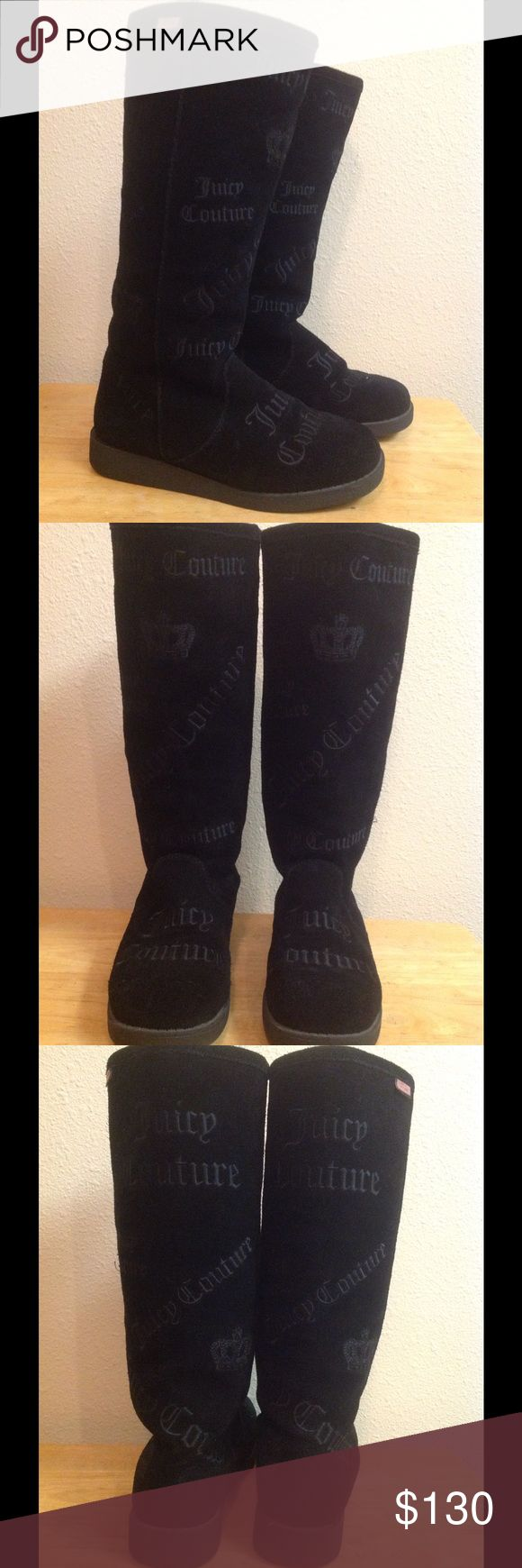 Juicy Couture Boots Gentle used boots. Look new. Please send fair offers. No low balls. 🚫 Trades Juicy Couture Shoes Winter & Rain Boots