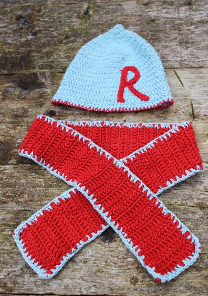 Muts en sjaal haken / Crochet hat and scarf - Dimfies