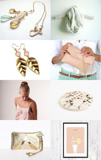 Pink Christmas by JazzFeathers on Etsy--Pinned with TreasuryPin.com