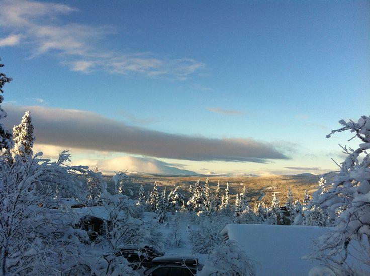 Fra hyttefeltet på Østfjellet, Engerdal, Norway.