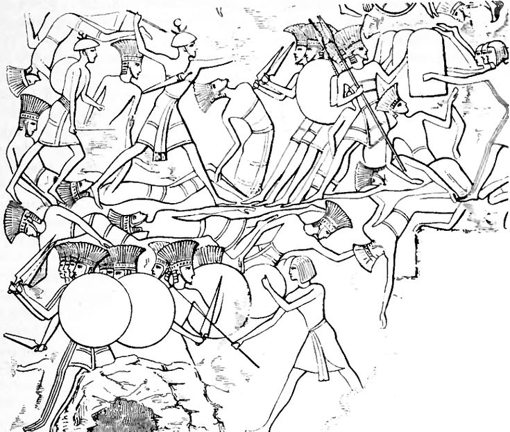 Sea People   The Sea Peoples were conjectured groups of seafaring raidersusually…