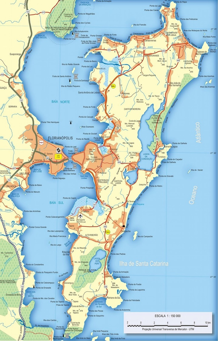 Mapas de Florianópolis                                                                                                                                                                                 Mais