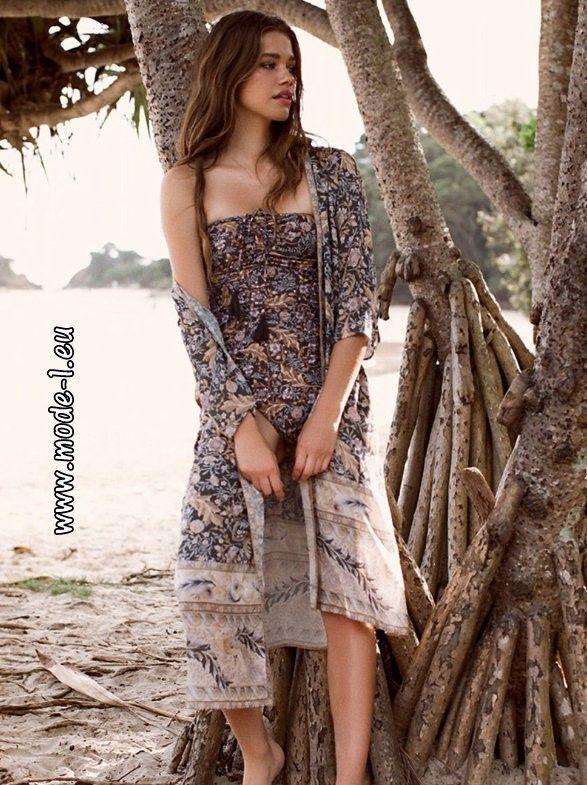 Boho Style Badeanzug Set mit Jacke #mode #fashion #damenmode