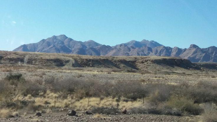 Drive through Namibia