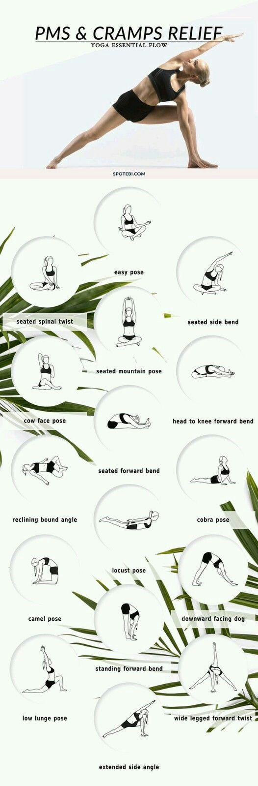 PMs and Cramps Relief Yoga Workout | Posted by: NewHowtoLoseBellyFat.com