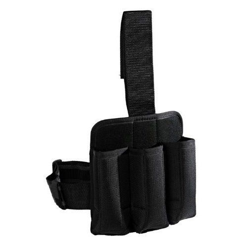Tiberius Arms Triple Paintball Magazine Holster - Black by Tiberius Arms. $38.95. Description This is a Triple Holster to hold 3 Extra Magazines. Features Custom Fit Retention Velcro Belt Loop for Easy On/Off Tear Resistant Snag Resistant Leg Strap with Built-In Elastic Leg Strap Interlaced with Rubber. Save 35%!