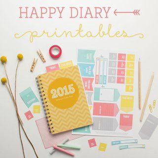 Agenda et calendrier 2015 DIY - Marie Claire Idées