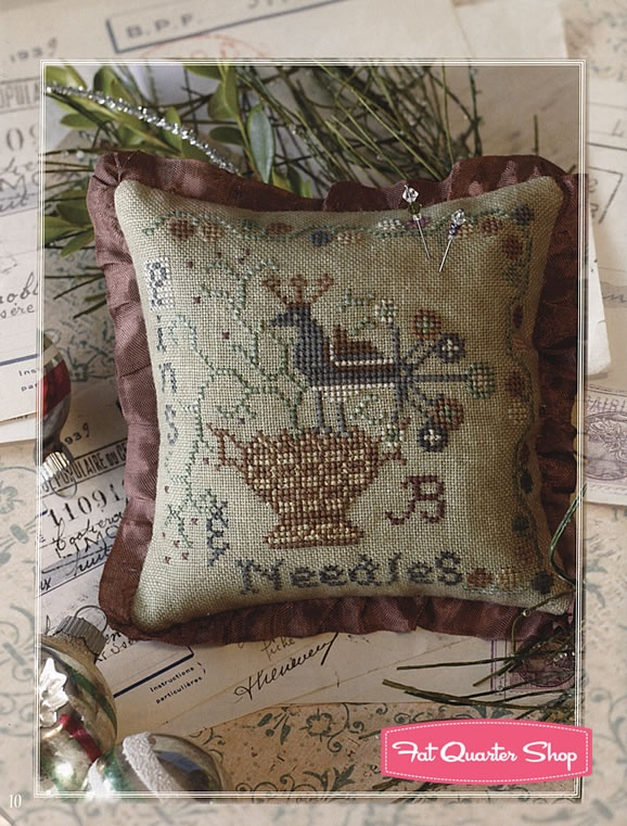 The Gift Is Small Cross Stitch Projects Book Blackbird Designs, Barb Adams and Alma Allen - Fat Quarter Shop