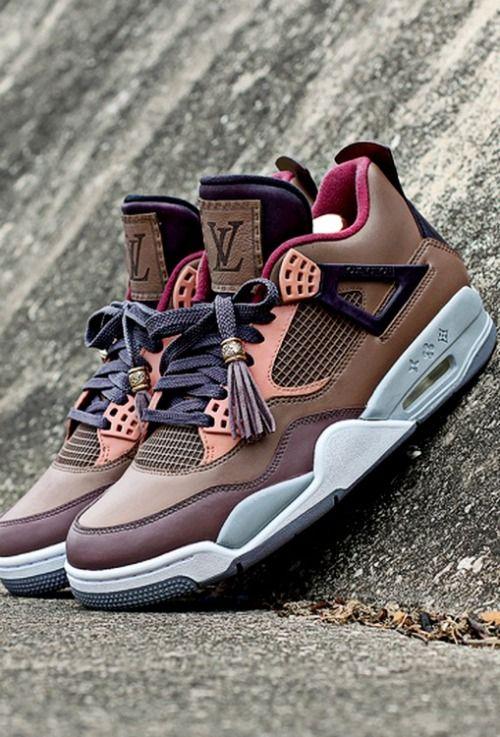 Nike Air Jordans x Louis Vuitton collab | Raddest Men's Fashion Looks On The Internet: http://www.raddestlooks.org
