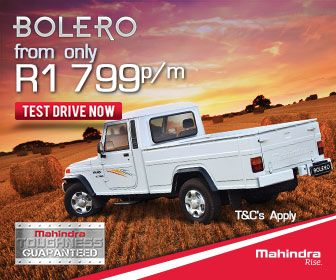Buy a Mahindra Bolero Single Cab Bakkie in South Africa from Only R1799 per month. Terms and conditions apply.