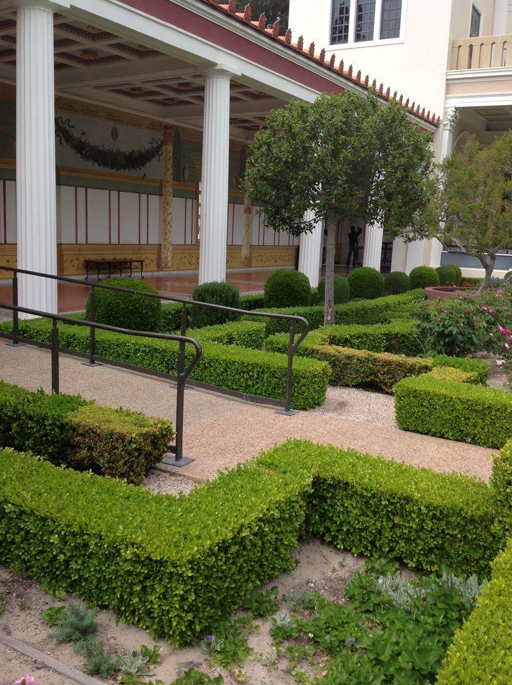 Corner Of Getty Villa Garden Places I 39 Ve Been Pinterest