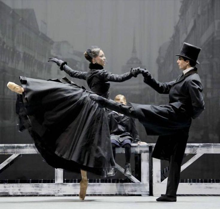 """<<Viktorina Kapitonova and Filipe Portugal in """"Anna Karenina"""" Ballett Zuerich # Photo by Monika Rittershaus>>"""