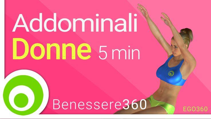 Addominali per donne. 5 minuti di esercizi a corpo libero per la pancia
