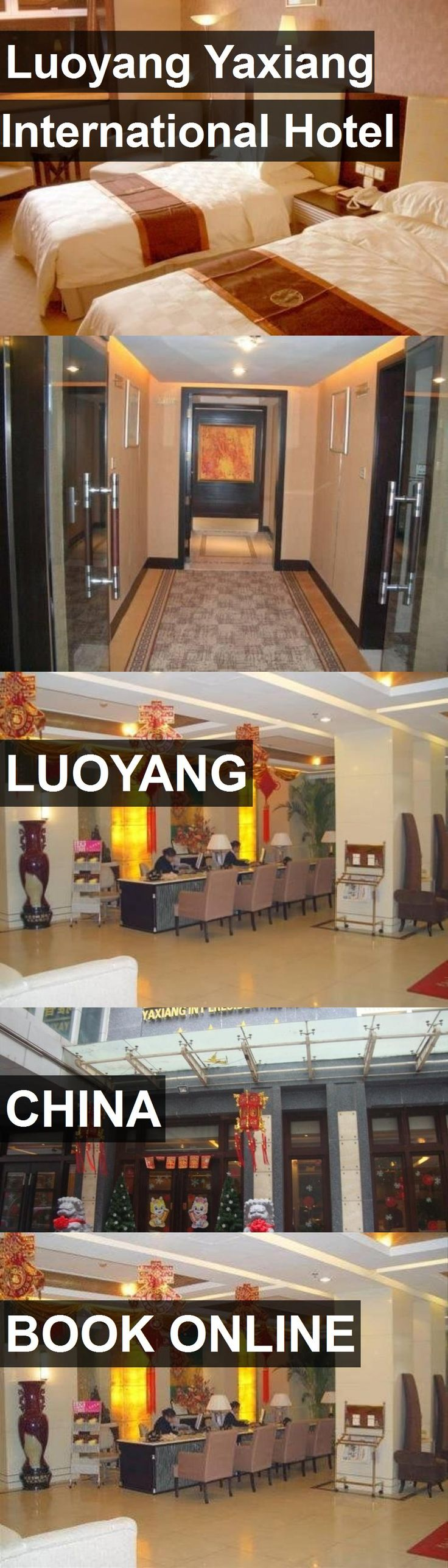 Luoyang Yaxiang International Hotel in Luoyang, China. For more information, photos, reviews and best prices please follow the link. #China #Luoyang #travel #vacation #hotel