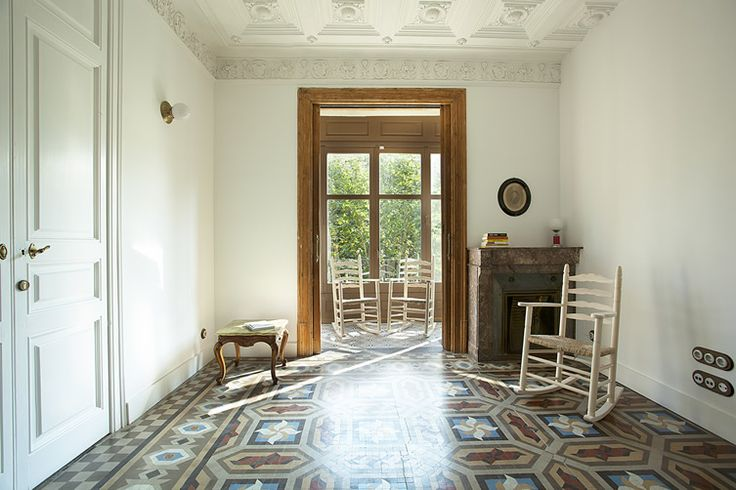 Architectural heritage meets modern sustainability principles at thoughtful Barcelona B&B... http://www.we-heart.com/2014/11/19/yok-casa-cultura-barcelona/