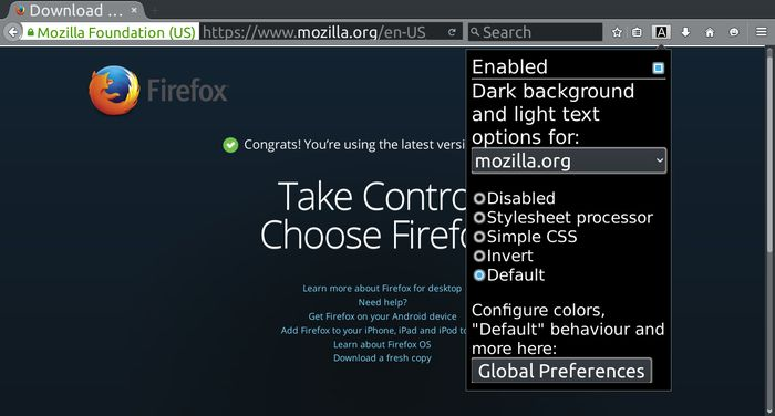 This Firefox add-on converts white backgrounds to black on any website especially useful for OLED screens