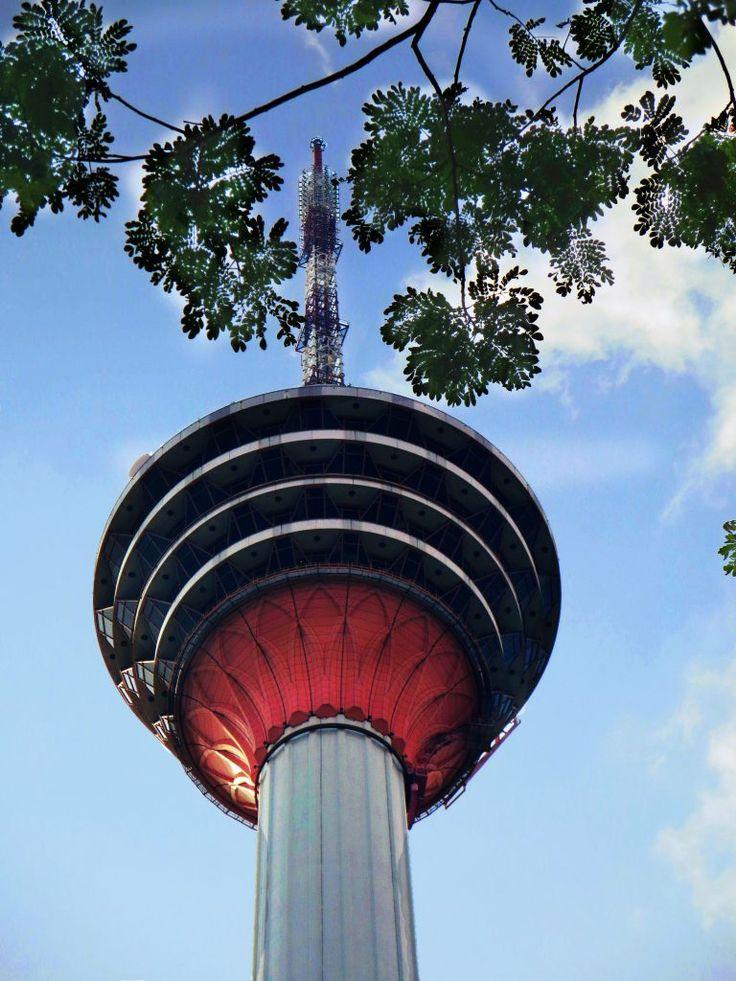Menara KL- 360° Blick über die Stadt Kuala Lumpur, Malaysia
