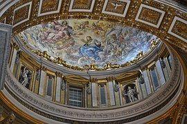 Basílica De San Pedro, Cubierta Fresco