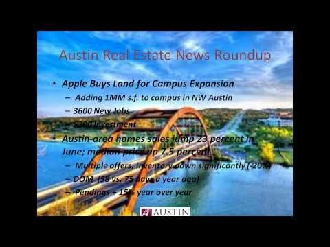 Austin Real Estate Today Radio | Austin Realty Podcast for week of July 23, 2012.