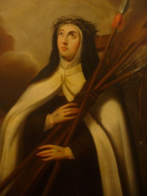 """Santa Maria Magdalena de Pazzi (Junio 21) Religiosa Carmelita tuvo su primer éxtasis que le duró más de una hora. Su rostro apareció ardiente, y deshecha en lágrimas sollozaba y repetía: """"Oh amor de Dios que no eres conocido ni amado: ¡cuán ofendido estás!"""". Durante 40 días tuvo inmensas consolaciones espirituales y recibió gracias extraordinarias. El 25 de mayo del año 1607 muere a los 41 años. Su cuerpo se conserva todavía incorrupto en el convento carmelita de Florencia donde pasó su…"""