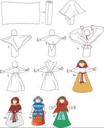 Кукольный сундучок кукла Столбушка