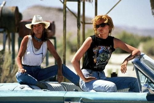 Thelma & Louise. One of the best chick flicks ever. True friends are hard to come by.