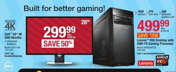 Best Desktop Computer Deals for the 2016 Black Friday Sales  #BlackFriday #Desktops http://gazettereview.com/2016/11/best-desktop-computer-deals-2016-black-friday-sales/