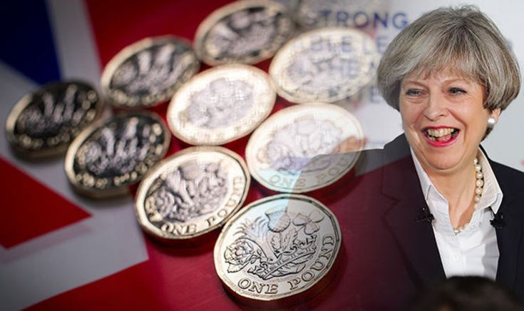 Pound to euro exchange rate: Sterling climbs BACK as Theresa May soars in polls