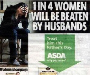 'Daily Mirror' Newspaper Places Father's Day Ad Next to Spousal Abuse Story  www.opposingviews.com/i/society/crime/daily-mirror-newspaper-places-fathers-day-ad-next-spousal-abuse-story