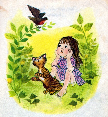 First Book of Sounds, Illustrations by Trina Schart, 1963 (1983 edition)- Robin