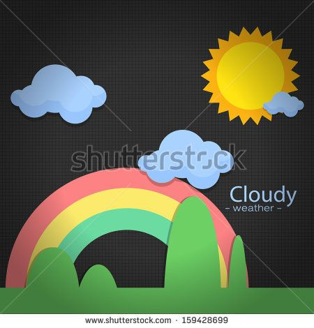 icon weather on back background http://www.shutterstock.com/pic-159428699/stock-vector-icon-weather-on-back-background.html?src=kf6DuYeydaJbeAU9sja52A-1-45